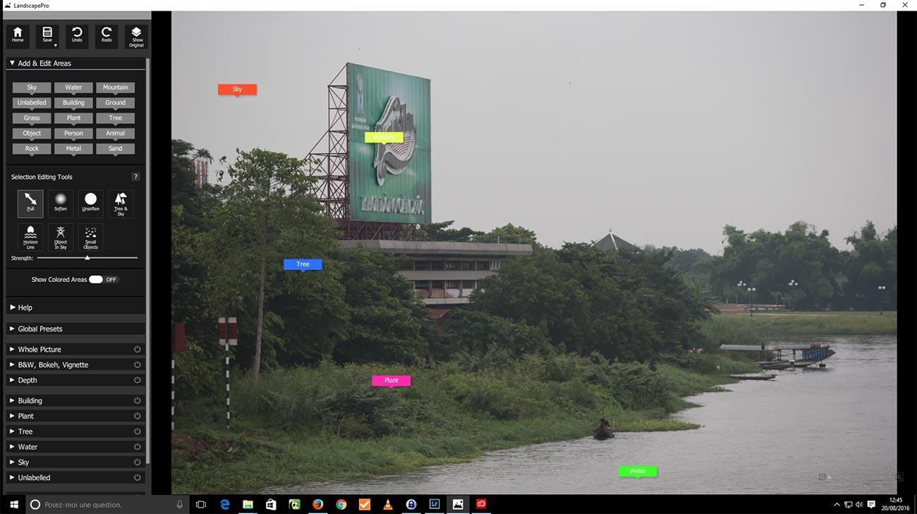 Landscape Pro - Etapes