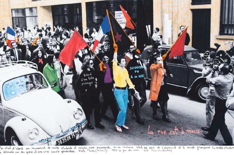 Marcelo Brodsky - PARIS, 1968. SÉRIE 1968 : LE FEU DES IDÉES.